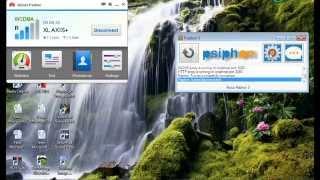 TUTORIAL INTERNET GRATIS AXIS  SEDERHANA MENGGUNAKAN PSIPHON3  (Khusus PC)