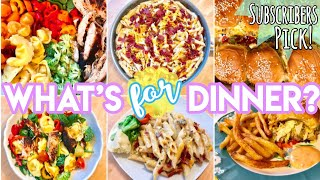 WHAT'S FOR DINNER? DINNER IDEAS + RECIPES JULY 2019