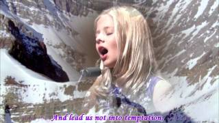 Jackie Evancho sings The Lord's Prayer at 2011 Concert Tours at Dallas with lyrics