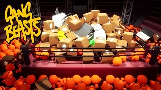 Gang Beasts - SO MUCH JUNK!!! [Father And Son Gameplay]