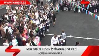 QAXDA MEKTEB YENIDEN ISTIFADEYE VERILDI