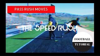 SPEED RUSH - Pass Rush Moves - American Football Tutorial - Defensive Line Drills