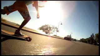preview picture of video 'Obraviva Longboards, Colonia del Sacramento-Uruguay'