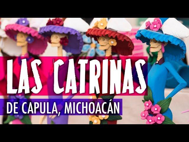 Las bellas catrinas de Capula