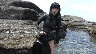 antique scuba style