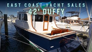 Duffy 42 Sold by Ben Knowles from east coast yacht sales