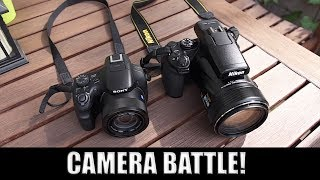 Nikon Coolpix P1000 vs Sony HX400 – Which One is Better?