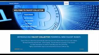 Faucet Collector | RaiBlocks Fast Auto Claim Demonstration | XRB | Free Satoshi