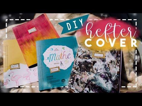 BACK TO SCHOOL: DIY Heftercover // JustSayEleanor ♡ (Hefter verschönern)