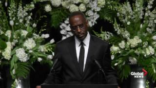 Dr. Kevin Cosby delivers incredible speech at Muhammad Ali's funeral