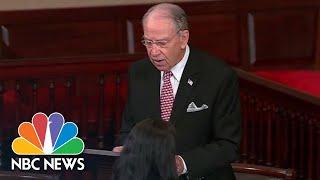Kavanaugh's Fate in Hands of a Few Senators