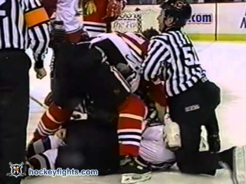 Warren Rychel vs. Dave Manson