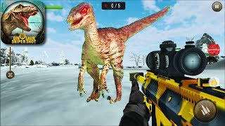 DINOSAUR SNIPER SHOT - Walkthrough Gameplay - INTRO (Android New Games)