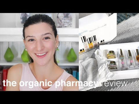 The Organic Pharmacy Review and Demo | Clean, Green Skincare