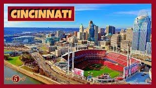CINCINNATI Ohio Tour 4K Drone Video