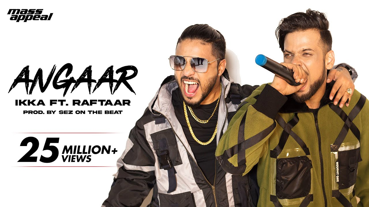 Angaar Lyrics - IKKA Ft. Raftaar Full Song Lyrics | Sez On The Beat | Lyricworld