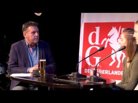 Gelderlander Nieuwscafé en Omroep land van Cuijk 28-10-2016