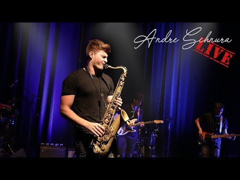 Andre Schnura Live: Intro & Brian Culbertson - Back In The Day (Saxophone Cover) 1/3