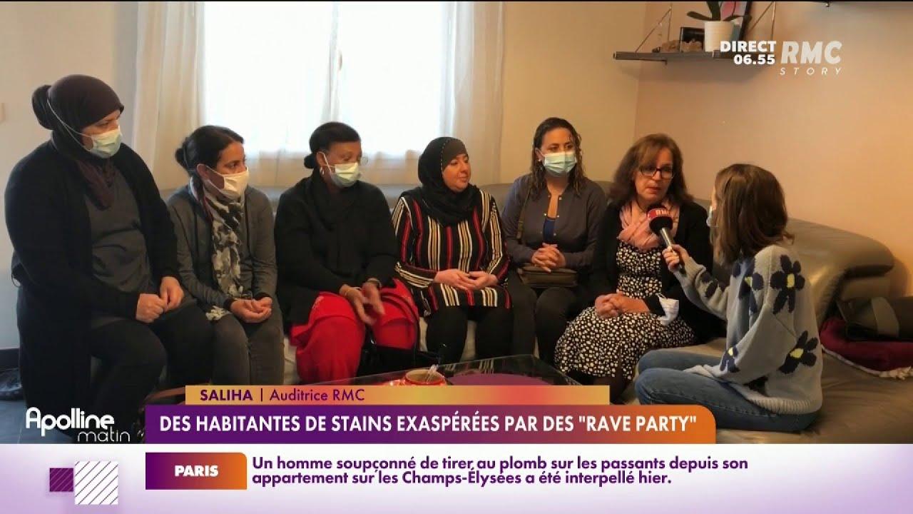Depuis plusieurs semaines, des rave party se multiplient à Stains, en Seine Saint-Denis