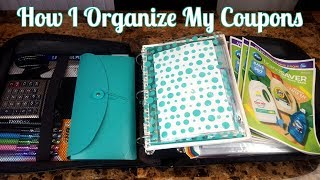 How I Organize My Coupons Mar 2020 | My Coupon Binder | Grab & Go Method | Sunday Paper