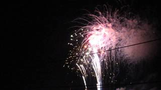 2014 nc holiday flotilla fireworks finale!! - Video Youtube