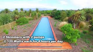 25m Lap Pool Off Grid