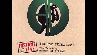 Arrested Development - Natural live in Boston 2004