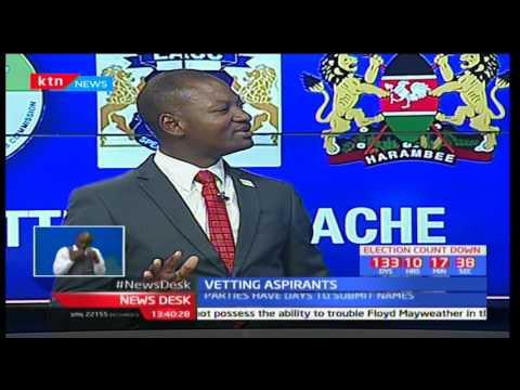 Newsdesk Full Bulletin: Vetting aspirants - 27/3/2017 [Part 2]