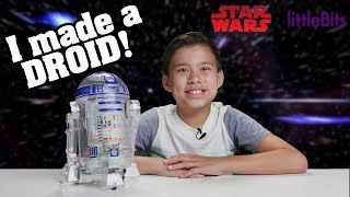 CREATING WITH THE DROID INVENTOR KIT!!!
