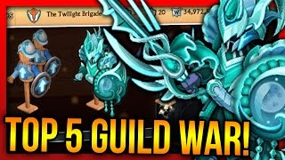 "Knights and Dragons - TOP 5 Netherworld Nightmare Guild War + Power Leveling ""EREBUS ETERNAL+!"""