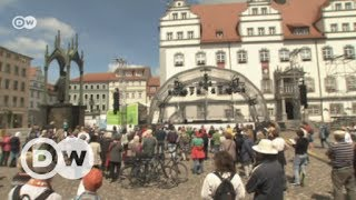 At the Christian convention in Wittenberg   Euromaxx