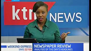 Newspaper Review: Analysis of the day's headlines