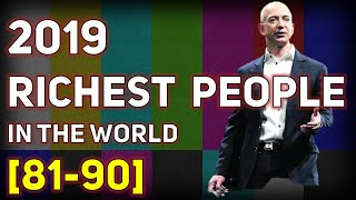 Top Billionaire Rankings from 81st to 90th