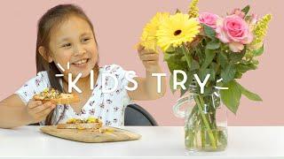 Kids Try: Edible Flowers | Outdoor Series | HiHo Kids
