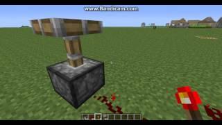 Minecraft.Вечный двигатель (вечный поршень).