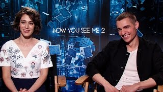 Lizzy Caplan & Dave Franco Talk 'Now You See Me 2' Magic