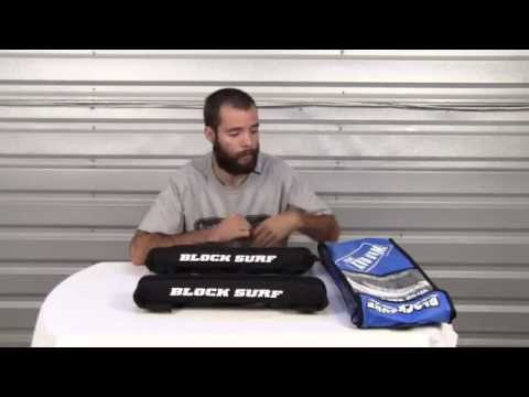 Block Surf Wrap Rax Deluxe Single Soft Rack Review at Surfboards.com