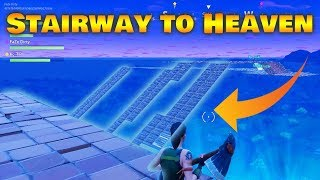 INSANE FORTNITE STAIRWAY TO HEAVEN CHALLENGE!!