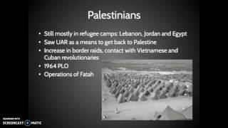 Causes of the 1967 Six Day War 1/2
