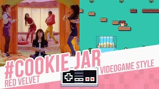 #COOKIE JAR, Red Velvet - Videogame style - 8 bits