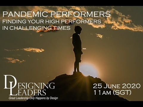 , title : 'PANDEMIC PERFORMANCE: Finding Your High Performers in Challenging Times