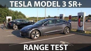 Tesla Model 3 Standard Range Plus range test