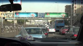 preview picture of video 'Driving Cairo القاهرة - Egypt مصر'