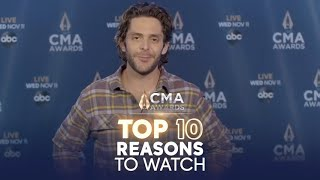 Top 10 Reasons To Watch The CMA Awards 2020