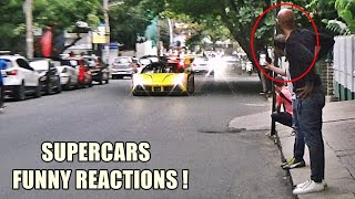 MY FRIEND REACTS TO LOUD CARS   SUPERCARS INDIA   August 2018 Part 2