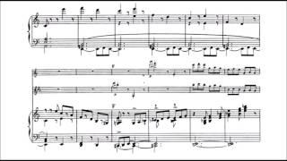 Camille Saint-Saëns - Tarantella Op. 6 (audio + sheet music)