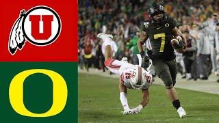 #5 Utah vs #13 Oregon 2019 Pac 12 Championship Highlights | College Football Highlights