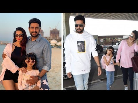 Abhishek Bachchan Shares New Year Pic With Aishwarya And Aaradhya | Bollywood Gossips 2019 English