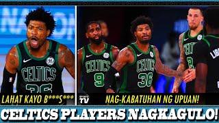 PLAYERS ng BOSTON CELTICS NAGKAGULO/NAGKABATUHAN ng UPUAN sa LOCKER ROOM | MARCUS SMART vs TEAMMATES