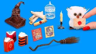 12 DIY Harry Potter Miniature Hacks And Crafts